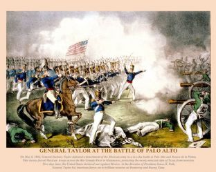 Palo Alto - General Taylor - May 8th 1846